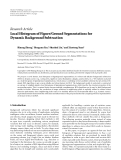 """Báo cáo sinh học: """"  Research Article Local Histogram of Figure/Ground Segmentations for Dynamic Background Subtraction"""""""