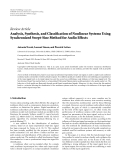 """Báo cáo sinh học: """"  Review Article Analysis, Synthesis, and Classification of Nonlinear Systems Using Synchronized Swept-Sine Method for Audio Effects"""""""