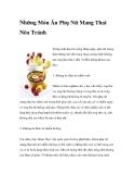 Những Món Ăn Phụ Nữ Mang Thai Nên Tránh