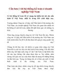 Cần lưu ý tới hệ thống kế toán ở doanh nghiệp Việt Nam