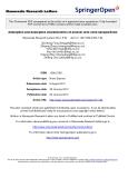 "báo cáo hóa học:""  Adsorption and desorption characteristics of arsenic onto ceria nanoparticles Nanoscale Researc"""