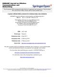 """báo cáo hóa học:""""   A power efficient MAC protocol for wireless body area networks"""""""