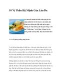 10 Vị Thần Hộ Mệnh Cho Làn Da
