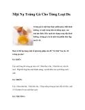 Mặt Nạ Trứng Gà Cho Từng Loại Da