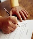 Mẫu giấy ủy quyền xử lý vi phạm hành chính