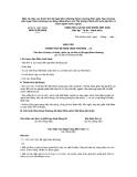 Mẫu 14: Báo cáo thành tích đề nghị khen thưởng Huân chương Hữu nghị, Huy chương Hữu nghị, Huân chương Lao động, Bằng khen của Thủ tướng Chính phủ