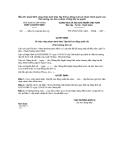 Mẫu 20: Quyết định công nhận danh hiệu Tập thể lao động xuất sắc thuộc thẩm quyền của Thủ trưởng các đơn vị được Thống đốc ủy quyền