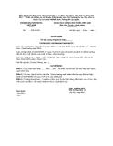 Mẫu 22: Quyết định công nhận danh hiệu