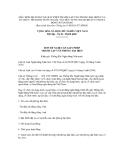 MẪU ĐƠN ĐỀ NGHỊ CẤP GIẤY PHÉP THÀNH LẬP VĂN PHÒNG ĐẠI DIỆN CỦA TỔ CHỨC TÍN DỤNG NƯỚC NGOÀI, TỔ CHỨC NƯỚC NGOÀI KHÁC CÓ HOẠT ĐỘNG NGÂN HÀNG