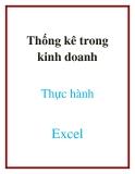 Thống kê trong kinh doanh thực hành Excel