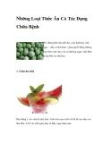 Những Loại Thức Ăn Có Tác Dụng Chữa Bệnh
