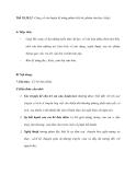 Tiết 19,20,21: Củng cố,rèn luyện kĩ năng phân tích tác phẩm văn học (tiếp)