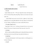 Buổi 12: LẶNG LẼ SA PA -Nguyễn Thành Long
