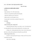 Buổi8:  BÀI THƠ VỀ TIỂU ĐỘI XE KHÔNG KÍNH -Phạm Tiến Duật