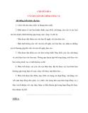 CHUYÊN ĐỀ 4 VĂN BẢN HÀNH CHÍNH CÔNG VỤ
