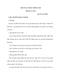 HOÀNG LÊ NHẤT THỐNG CHÍ (Hồi thứ 14, trích)