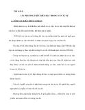 Tiết 1+2+3: CÁC PHƯƠNG THỨC BIỂU ĐẠT TRONG VĂN TỰ SỰ