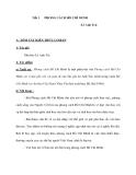 Giáo án Ngữ văn 9 tuần 1: Phong cách Hồ Chí Minh