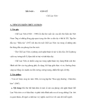 Tiết 9+10 :CON CŨ - Chế Lan Viên