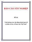 Đề tài: Ảnh hưởng của vận động hành lang tới vụ kiện cá tra, cá basa của Việt Nam