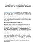 Những điểm mới trong kê khai thuế, quyết toán thuế trong năm 2011 theo Thông tư 28/2011/TTBTC