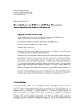 """báo cáo hóa học:""""  Research Article Boundedness of Littlewood-Paley Operators Associated with Gauss Measures"""""""
