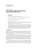 """báo cáo hóa học:""""   Research Article Generalizations of the Nash Equilibrium Theorem in the KKM Theory"""""""