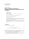 """báo cáo hóa học:""""  Research Article Positive and Dead-Core Solutions of Two-Point Singular Boundary Value Problems with φ-Laplacian"""""""