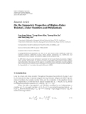 """báo cáo hóa học:""""   Research Article On the Symmetric Properties of Higher-Order Twisted q-Euler Numbers and Polynomials"""""""