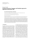 """báo cáo hóa học:""""  Research Article On Mixed Abstraction, Languages, and Simulation Approach to Refinement with SystemC AMS"""""""