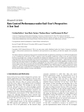 """báo cáo hóa học:""""  Research Article Rate Control Performance under End-User's Perspective: A Test Tool"""""""