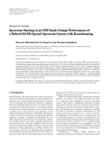 """Báo cáo hóa học: """"Research Article Spectrum Sharing in an ISM Band: Outage Performance of a Hybrid DS/FH Spread Spectrum System with Beamforming"""""""
