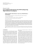 """Báo cáo hóa học: """" Research Article Low Complexity DFT-Domain Noise PSD Tracking Using High-Resolution Periodograms"""""""