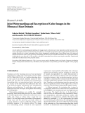 """Báo cáo hóa học: """"Research Article Joint Watermarking and Encryption of Color Images in the Fibonacci-Haar Domai'"""""""