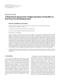 "Báo cáo hóa học: ""Research Article A Rules-Based Approach for Configuring Chains of Classifiers in Real-Time Stream Mining Systems Brian Foo and Mihaela van der Schaar"""