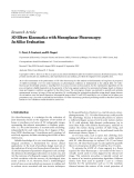 """Báo cáo hóa học: """"Research Article 3D Elbow Kinematics with Monoplanar Fluoroscopy: In Silico Evaluation"""""""