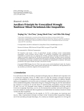 """Báo cáo hóa học: """" Research Article Auxiliary Principle for Generalized Strongly Nonlinear Mixed Variational-Like Inequalities"""""""