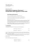 """Báo cáo hóa học: """"  Research Article Sturm-Picone Comparison Theorem of Second-Order Linear Equations on Time Scales"""""""