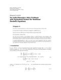 "Báo cáo hóa học: "" Research Article On Initial Boundary Value Problems with Equivalued Surface for Nonlinear Parabolic Equations Fengquan Li"""