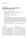 """Báo cáo hóa học: """"Research Article Self-Localization and Stream Field Based Partially Observable Moving Object Tracking"""""""