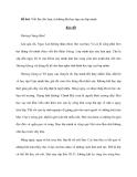 Đề bài: Viết thư cho bạn, tả không khí học tập của lớp mình