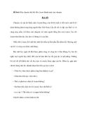 Đề bài: Hãy chuyển thể bài thơ Lượm thành một câu chuyện