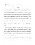 Đề bài: Kể vể một kỉ niệm sâu sắc (Ngày khai trường)