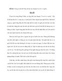 Đề bài: Trong vai bà đỡ Trần, kể lại câu chuyện Con hổ có nghĩa
