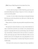 Đề bài: Trong vai Thánh Gióng, hãy kể lại câu chuyện Thánh Gióng