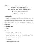 """GIỚI THIỆU CHƯƠNG TRÌNH NGỮ VĂN 7 GIỚI THIỆU TÁC PHẨM """"NHỮNG TẤM LÒNG CAO CẢ"""""""
