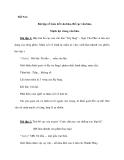 Tiết 5-6: Bài tập về Liên kết văn bản, Bố cục văn bản, Mạch lạc trong văn bản.