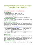 Hướng dẫn kỹ thuật chăn nuôi vịt chuyên trứng KHAKICAMBPELL