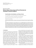 """báo cáo hóa học:""""   Research Article Motion Pattern Extraction and Event Detection for Automatic Visual Surveillance"""""""