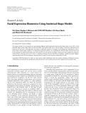 "báo cáo hóa học:""   Research Article Facial Expression Biometrics Using Statistical Shape Models"""